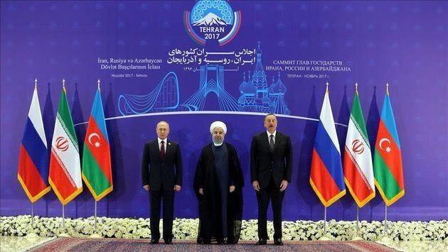 اجلاس سه جانبه سران ایران، روسیه و آذربایجان به زمان مناسب موکول شد