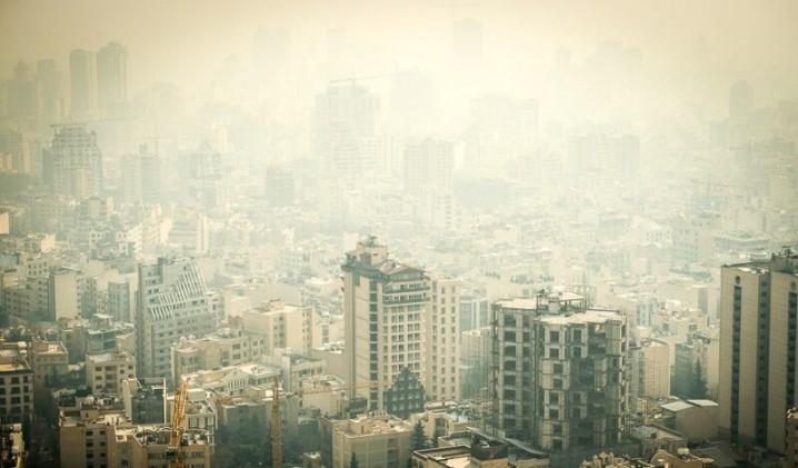 هوای تهران همچنان در وضعیت قرمز است