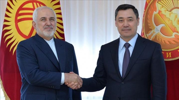 توسعه تجارت و سرمایهگذاری مشترک؛ نتیجه دیدار ظریف از قرقیزستان