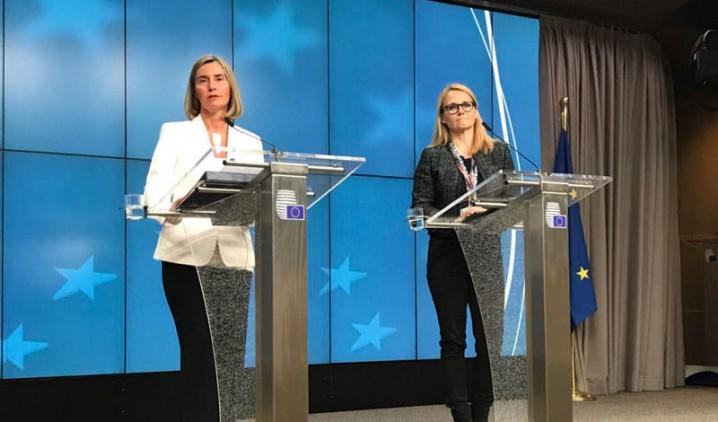 رونمایی موگرینی از طرح اروپا برای «حفظ منافع اقتصادی ایران از برجام»