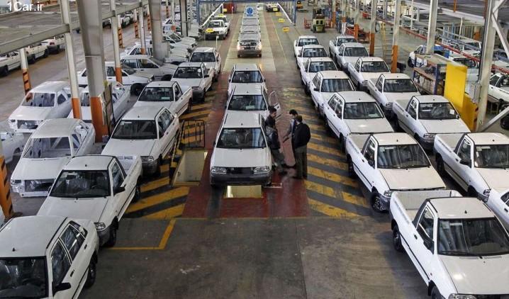 احتکار 90 هزار دستگاه خودرو توسط خودروسازان