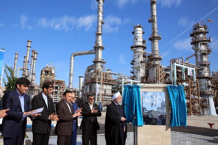 Iran Launches Major Petrol Project