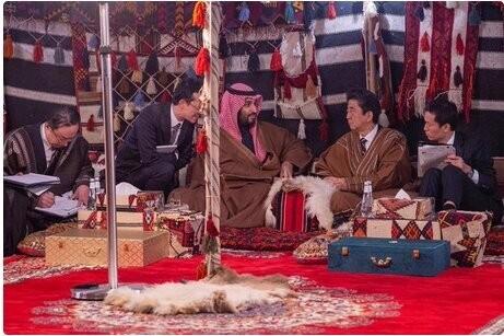 احتمالا شینزوآبه پیام ایران و آمریکا را به عربستان برده است