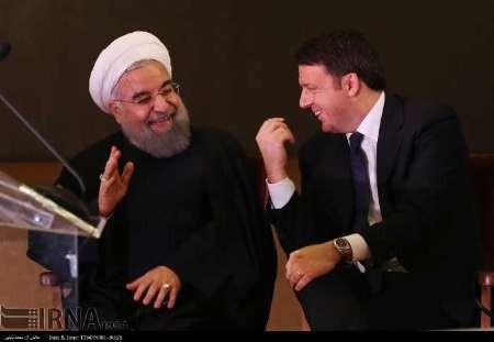 روحانی: نخست وزیر ایتالیا برای تحکیم پیوندهای اقتصادی در ماه های آتی به ایران سفر می کند