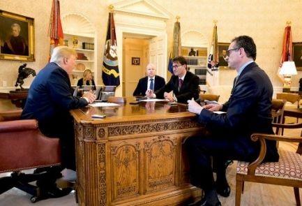 ترامپ: انتظار دارم حکومت ایران مدت ها برقرار باشد