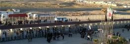 آخرین وضعیت پایانه و تردد زائران در مرز مهران