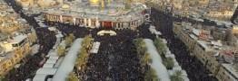 کربلا در اربعین با میلیونها زائر دیدنیتر شد + عکس