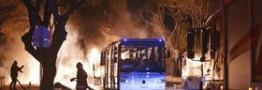 انفجار در آنکارا با 28 کشته و 61 زخمی