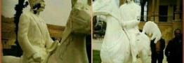 دستگیری عاملان تخریب مجسمه سردار اسعد بختیاری