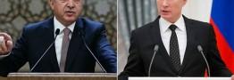 پوتین فهرست تحریمهای ترکیه را امضا کرد