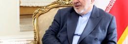 ظریف: دیدار با هیات طالبان با هدف صلح افغانستان انجام شد