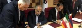 امضای پروتکل همکاریهای گمرکی میان روسای گمرکات ایران و ارمنستان
