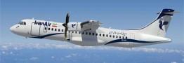 اولین هواپیمای مسافربری میان برد تحویل ایران شدشرکت ای تی آر:
