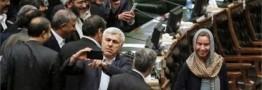 واکنش رسانههای بین المللی به سلفی گرفتن نمایندگان مجلس ایران با موگرینی