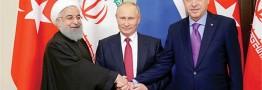 سوریه پس از داعش در نشست سه رئیسجمهور