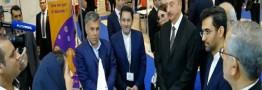 آذری جهرمی از نمایشگاه باکوتل بازدید کرد