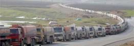 آتش سوزی مخازن سوخت در مرز ایران و افغانستان