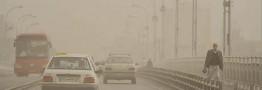گرد و غبار در نیمه غربی کشور