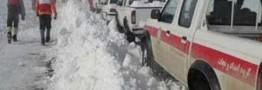 برف وکولاک در12 استان کشورامداد رسانی همچنان ادامه دارد