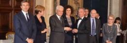 رئیس جمهوری ایتالیا مهمترین جایزه اقتصادی این کشوررا به یک ایرانی داد