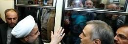 رئیس جمهوری با قطار عازم سمنان شد