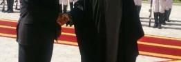 روحانی از رییس جمهوری آفریقای جنوبی استقبال كرد