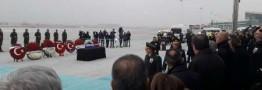جنازه سفیر روسیه در آنکارا به کشورش بدرقه شد