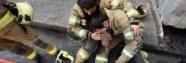 گفت وگو با همکاران آتش نشان های مدفون زیر آوار پلاسکو