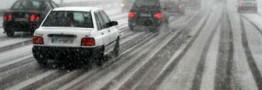 بارش برف و ترافیک سنگین در جاده های البرز