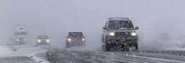 محورهای تردد در 10 استان برفی و در 2استان بارانی است