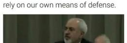 پاسخ توئیتری ظریف به توئیت های مکرر ترامپ/ ایران به تهدیدات وقعی نمی نهد