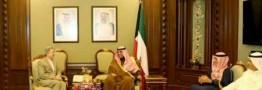 پیام کتبی رئیس جمهوری ایران به امیر کویت