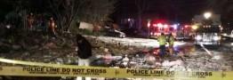انفجاری مهیب حومه واشنگتن را لرزاند