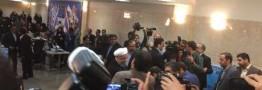 حسن روحانی درانتخابات ریاست جمهوری نام نویسی کرد