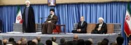 روحانی:رهبر معظم انقلاب همواره شجاعانه حامی جمهوریت، اسلامیت و قانون بوده اند/ ملت بزرگ ایران در پی خلق حماسهای جدید است
