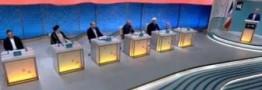 حاشیه های مناظره دوم تلویزیونی؛ یک لیوان برای 6 نامزد ریاست جمهوری