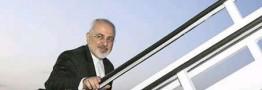 ظریف تهران را به مقصد الجزایر ترک کرد