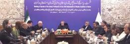 لاریجانی: تعلق خاطر برخی کشورهای اسلامی به اسرائیل فاجعه و لکه ننگ است