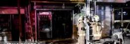 ریزش ساختمانی در خیابان وحدت اسلامی
