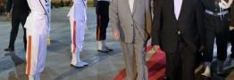 رییس کنگره ملی خلق کره شمالی برای شرکت در مراسم تحلیف روحانی وارد تهران شد