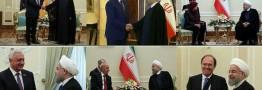 تاکید روحانی در دیدارهای دیپلماتیک پس از تحلیف بر توسعه روابط دوجانبه با کشورهای مختلف
