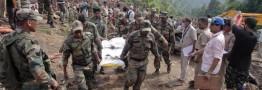 50 کشته براثر رانش زمین در شمال هند