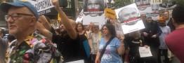 نیویورکی ها در اعتراض به حضور ترامپ در سازمان ملل به خیابان ها ریختند