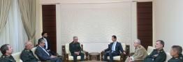 سرلشکر باقری با رئیس جمهوری سوریه دیدار و گفت و گو کرد