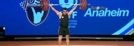 شب رکورد شکنی \'سهراب مرادی\' مرد سه طلایی وزنه برداری ایران