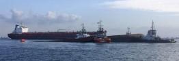 نفتکش حادثه دیده در آب های چین متعلق به ایران است