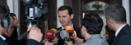 بشار اسد:اتهام استفاده از سلاح شیمیایی ترفند غرب برای حمله به سوریه است