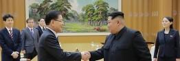 رهبر کره شمالی خواستار بهبود روابط و توافق با کره جنوبی شد