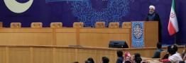 روحانی: اولین توطئه بزرگ را پشت سر گذاشتیم
