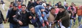 112 فلسطینی شهید و 13 هزار نفر زخمی شدند